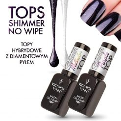 Gel Polish Top No Wipe Shimmer