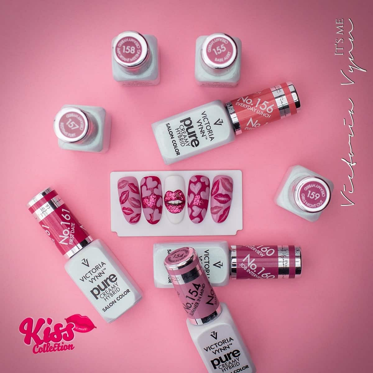KISS collection - Pure Gel Polish - Victoria Vynn