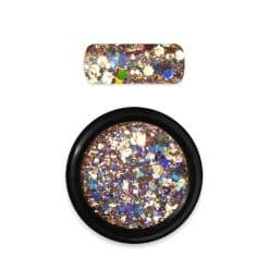 Moyra Holo Glitter Mix Gold