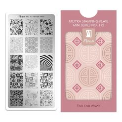 Moyra Mini Stamping Plate 112 - Far Far Away
