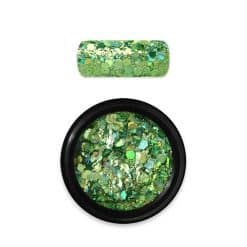 Moyra Rainbow Holo Glitter Mix Green
