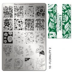 Moyra Stamping Plate 10 Florality 2
