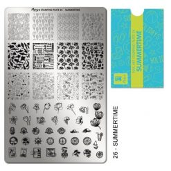 Moyra Stamping Plate 26 - Summertime