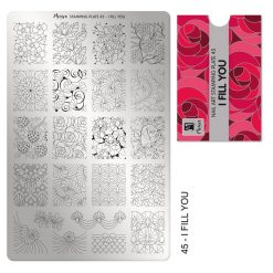 Moyra Stamping Plate 45 - I Fill You