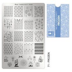 Moyra Stamping Plate 71 - Frozen