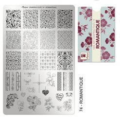 Moyra Stamping Plate 74 - Romantique