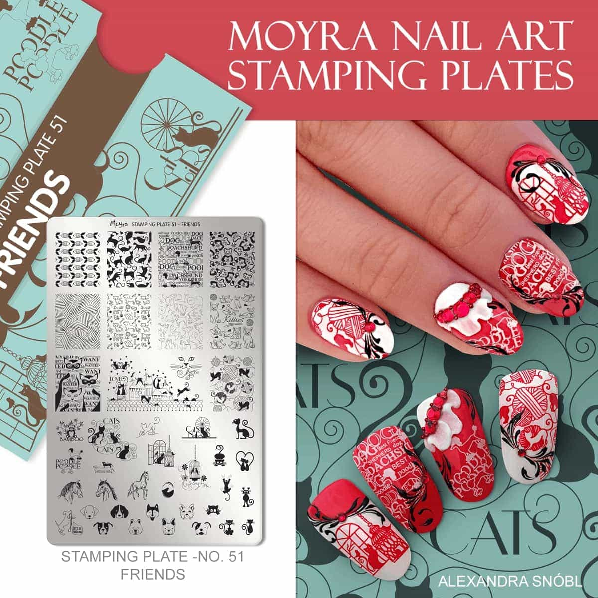 Moyra_stamping_plate_51_friends_arrived