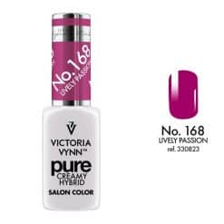 Pure Creamy Hybrid Gel Polish - 168 Lively Passion