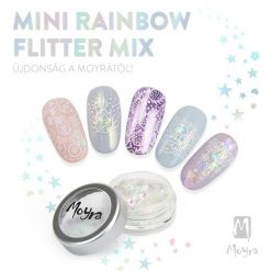 Rainbow Flitter Mix Mini Moyra