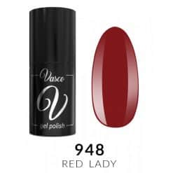 Vasco Gel Polish Rainbow Style 948 Red Lady