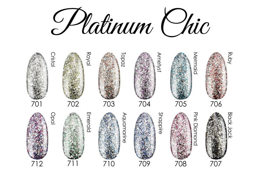 Vasco Nails Gel Polish Platinum Chic