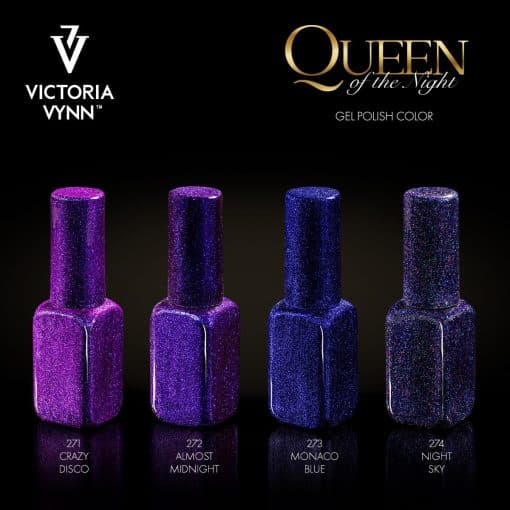 Victoria Vynn Salon Gellak Queen Of The Night 271 ™ 274