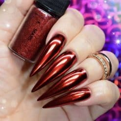 World of Glitter Chrome Dust - Mars Red