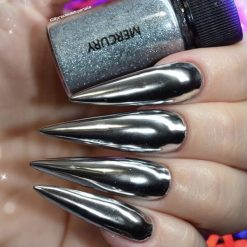 World of Glitter Chrome Dust - Mercury Silver