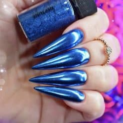 World of Glitter Chrome Dust - Neptune Blue